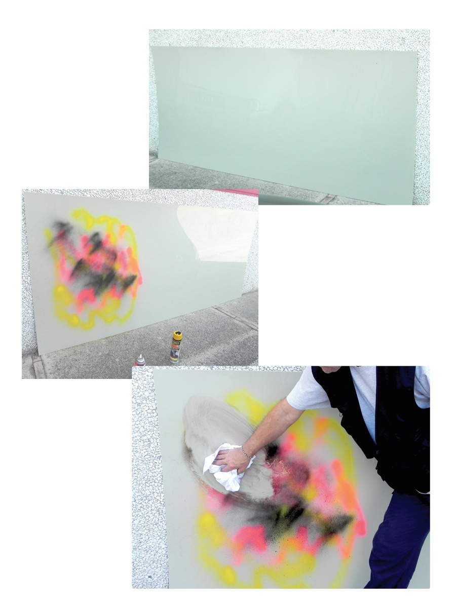 Pannelli antigraffiti