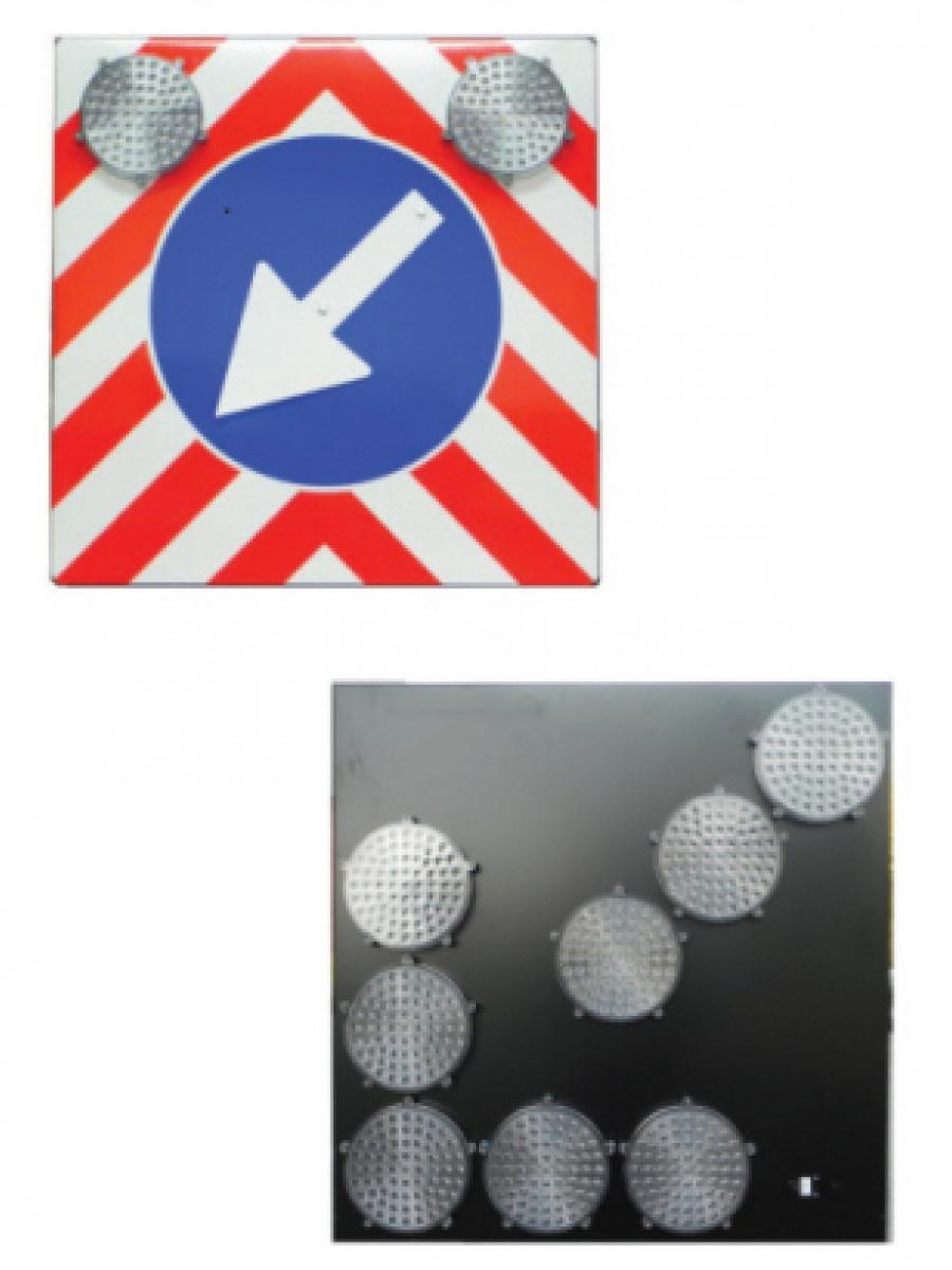Pannelli freccia direzionali luminosi