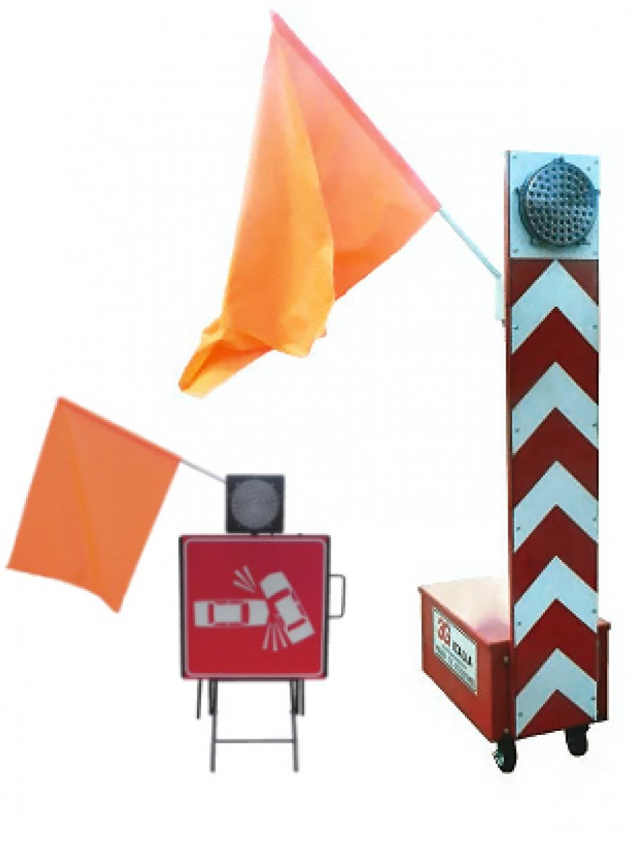 Sbandieratori elettromeccanici