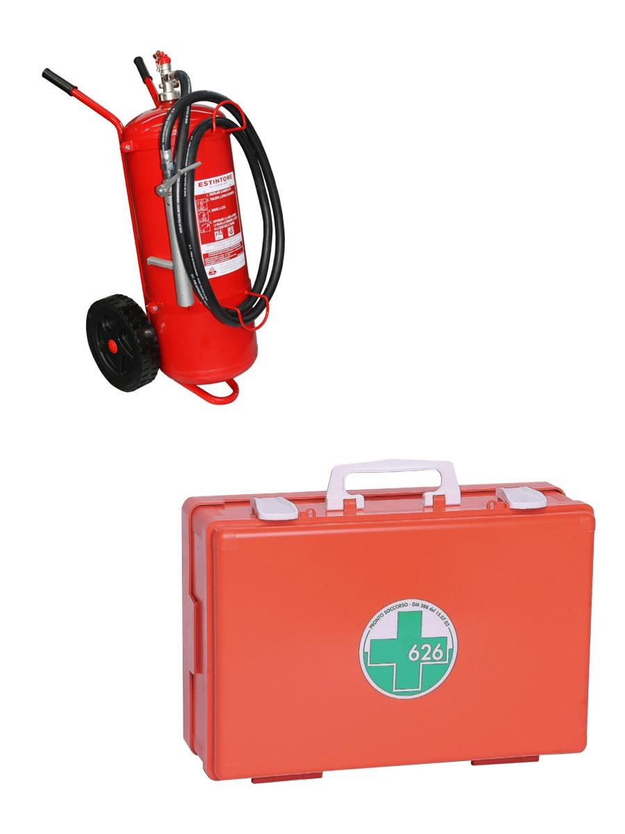 Attrezzature antincendio e gestione delle emergenze