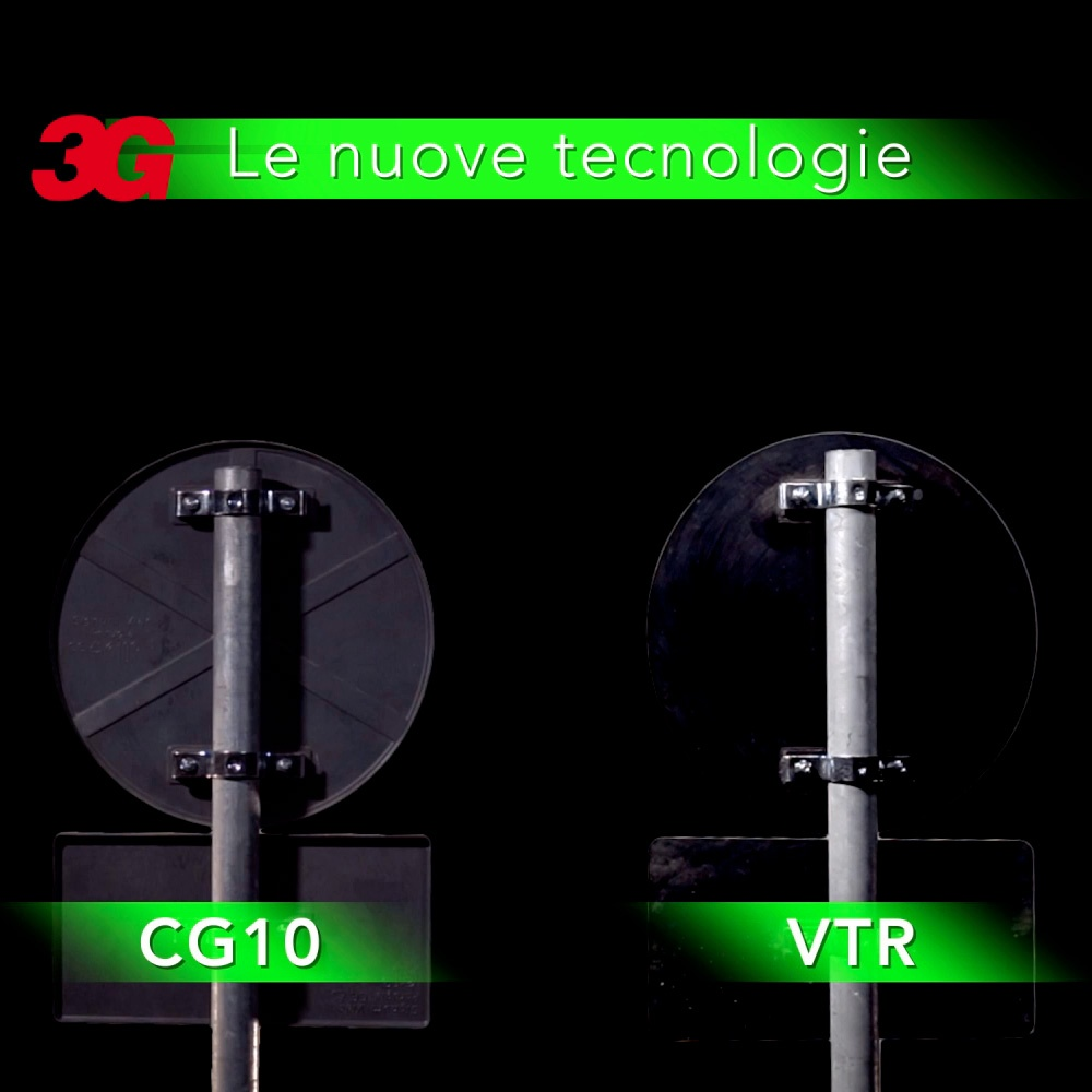 Segnali in materiali CG10 e VTR - Guarda il video
